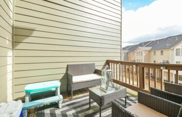 Beautiful End Unit Townhome