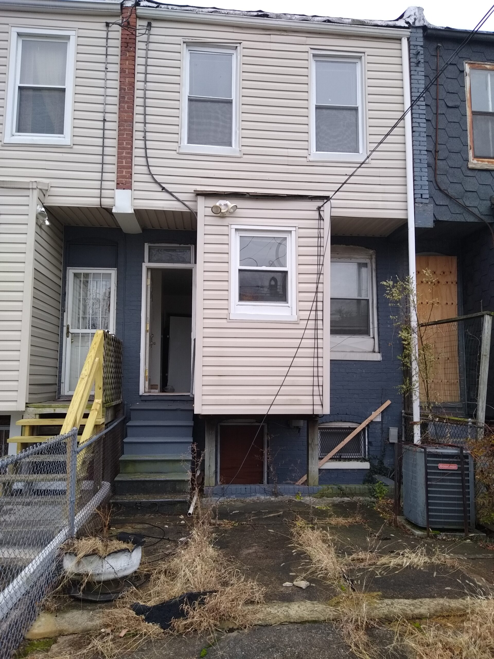 Rowhouse Fixer Upper in Baltimore, MD