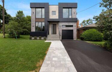 Modern Custom Build By Albo Homes In Desired Etobicoke Area