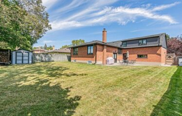 Fully Renovated Detached Home in Family Friendly Neighbourhood Backing On To Park