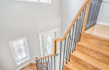 Bright Entrance Wooden Spiral Stairs A Gem In The Heart Of Fletcher's Meadow