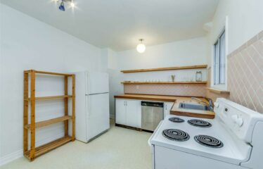 Home For Rent In Trinity Bellwoods Area.