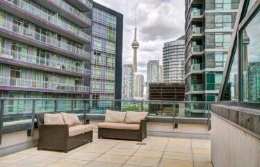 Heart Of Toronto Condo For Rent!!