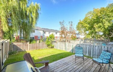 End-Unit Home In A Fantastic Family Neighbourhood