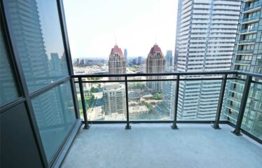 Stunning Views On Downtown Mississauga From This One Bed Plus Den Unit