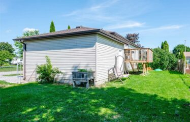 Raised Bungalow Is Situated In The Quaint Town Of Omemee