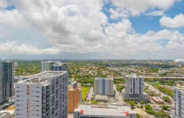 A view you Must see in South East Miami 2 bed 2 bath